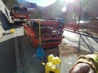 27.12.2018 - Aufräumen Verkehrsunfall