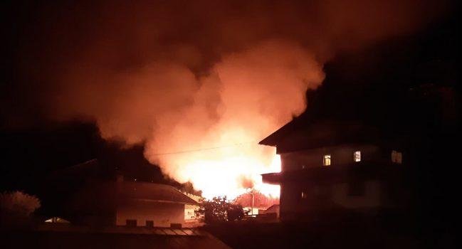 14.08.2021 – Gebäudebrand